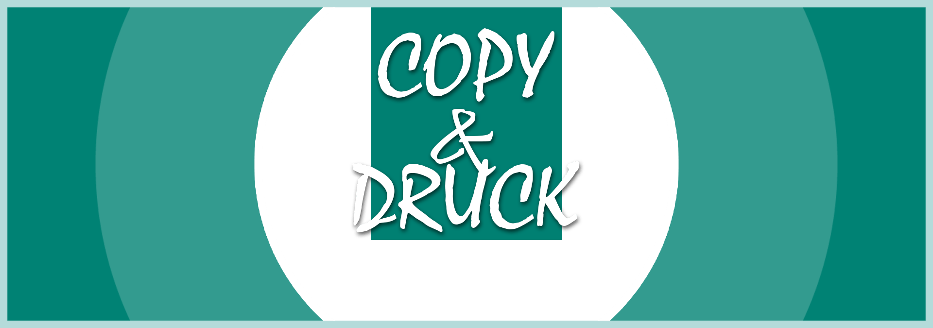 COPY & DRUCK: Logo (Icon wide)